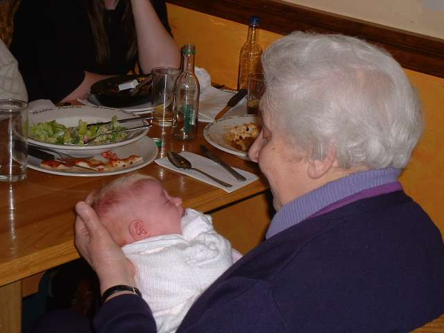 My mother and her great granddaughter