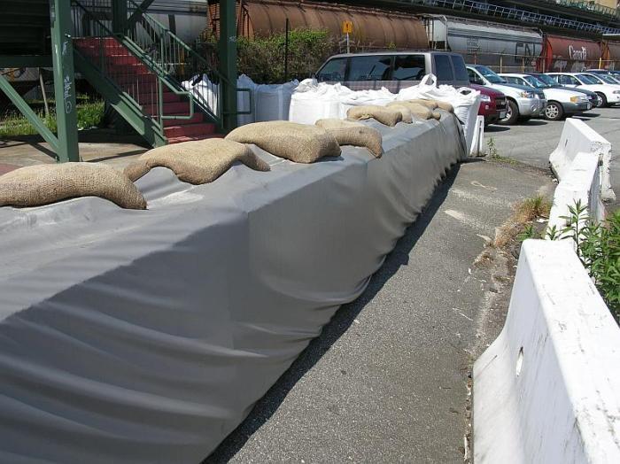 Lock Blocks and sandbags