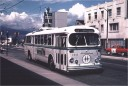 BC Hydro 2332 on route 19 at Main and Broadway July1970