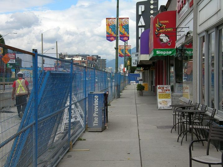 Cambie Street Lunchtime