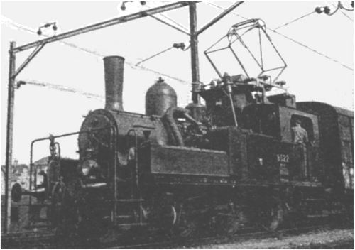 One of the Swiss electric-steam tankengines