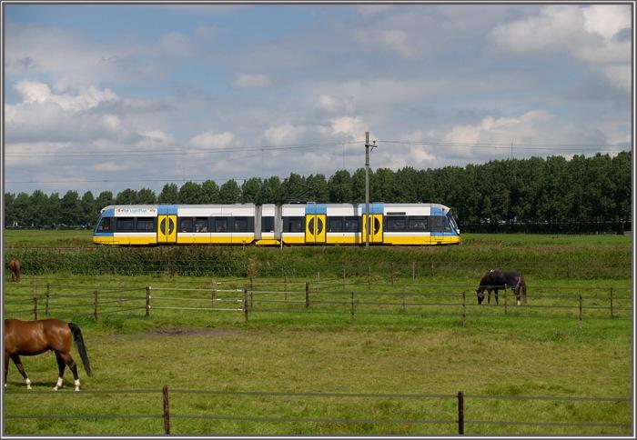 Durtch Railways (NS) Light Rail vehicle