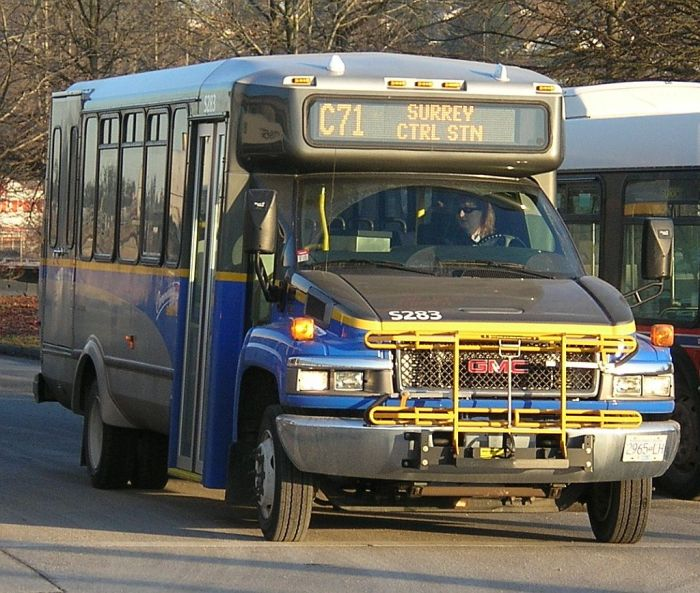 New type GM chassis Community Shuttle