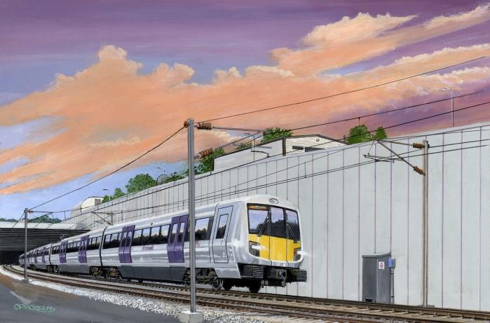 London Proposed Crossrail