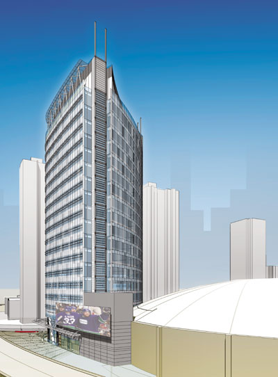 Carbon-neutral office tower planned for downtown Vancouver