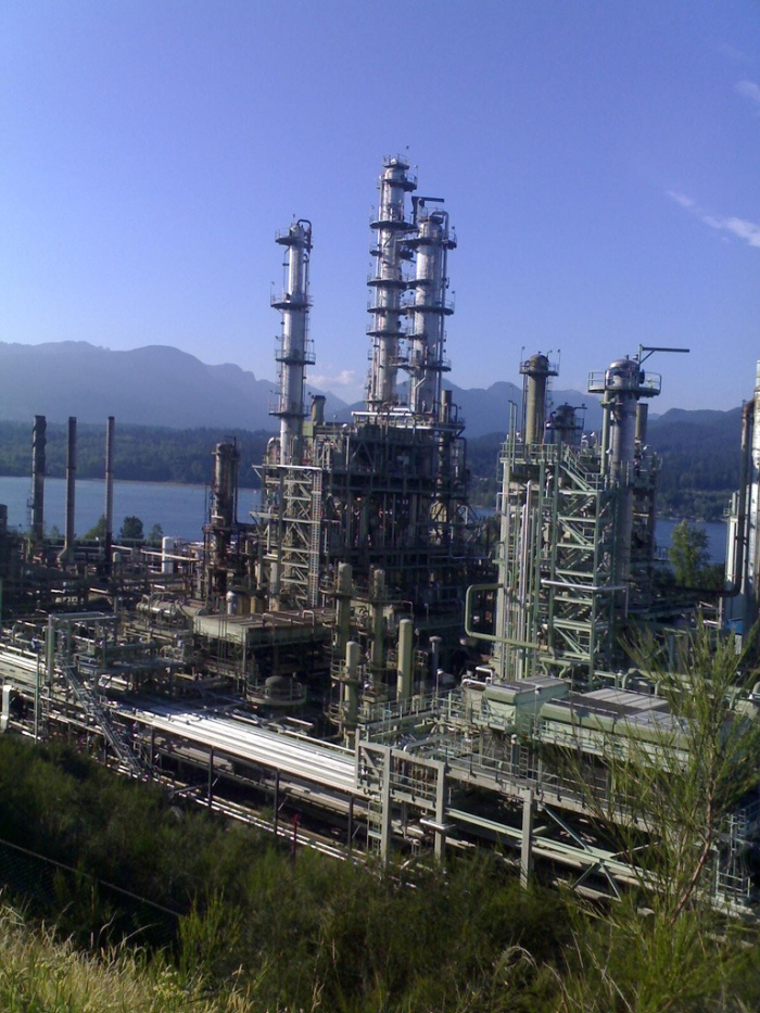 Chevron Refinery Burnaby