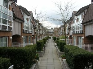 Townhouses on the Third Floor