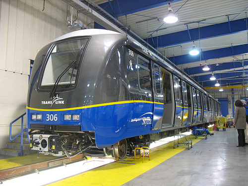New SkyTrain cars