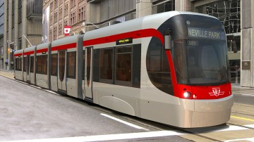 New design for Toronto Streetcar