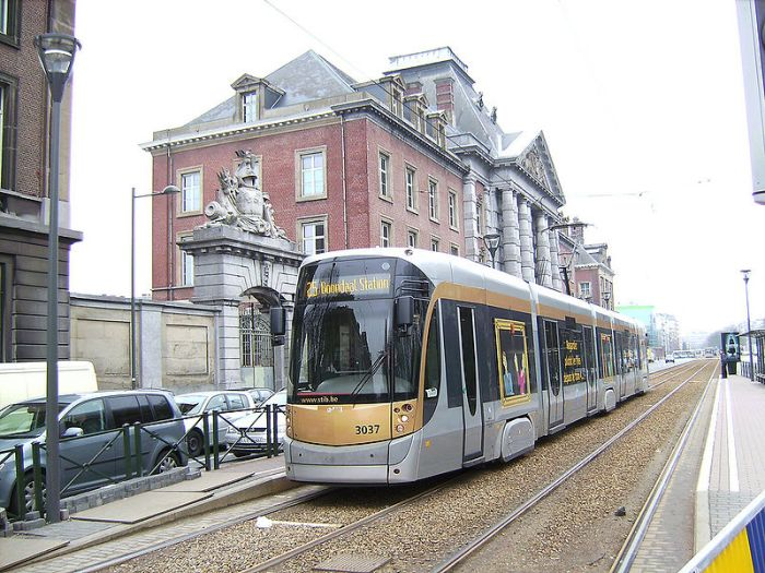 Bombardier Flexity Outlook Cityrunner tram in Brussels