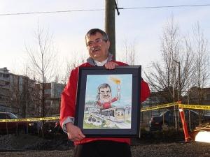 Steve Hall of Bombardier