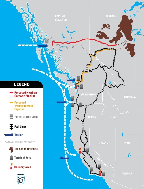 West Coast Tar Sands Threat