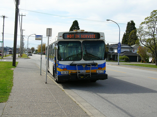 Translink bus in Steveston
