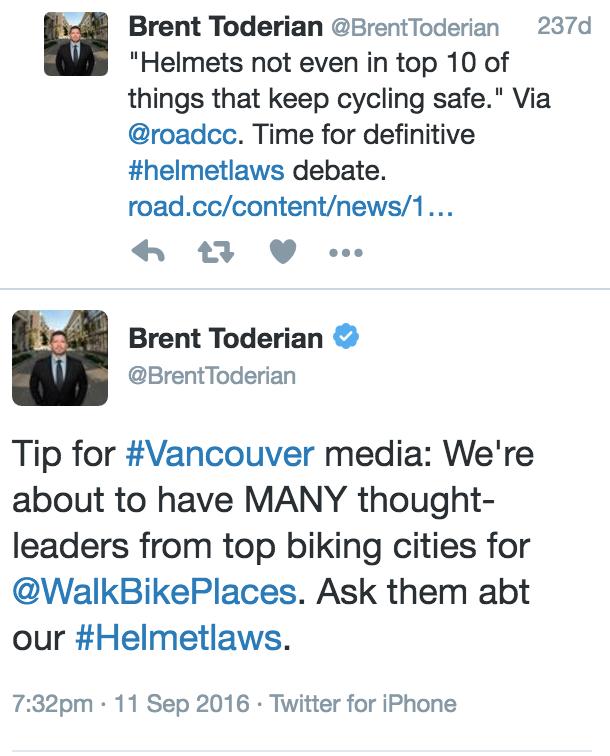 Guest Post by Brent Toderian on Bike Helmet Law | Stephen Rees's blog