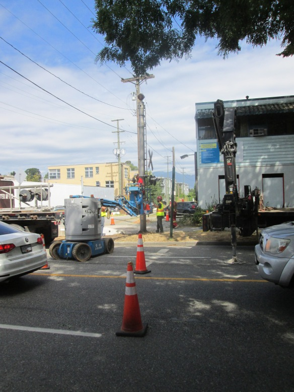 Removal of Railway Crossing Signals: Arbutus at 12th