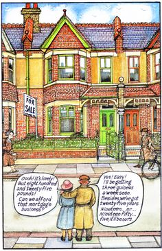 Raymond Briggs Terrace house