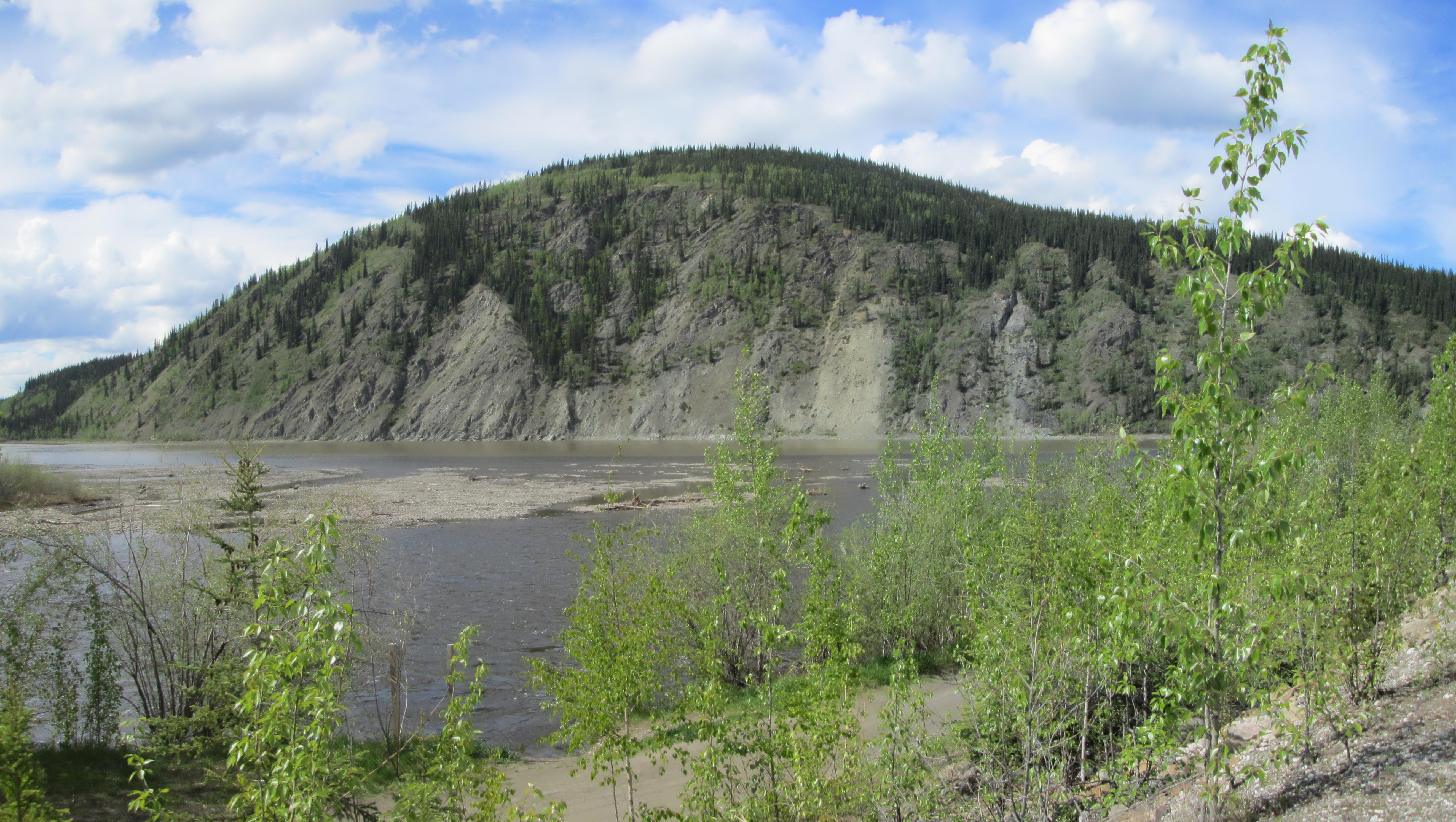 Confluence Yukon Klondike panorama